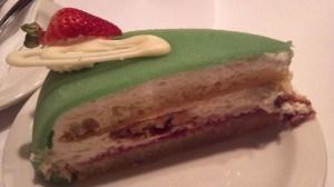Danish marzipan cake from Andersen's Santa Barbara
