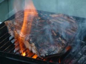 Beef, Porterhouse, grilled (1)