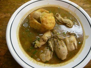 Cajun oyster stew