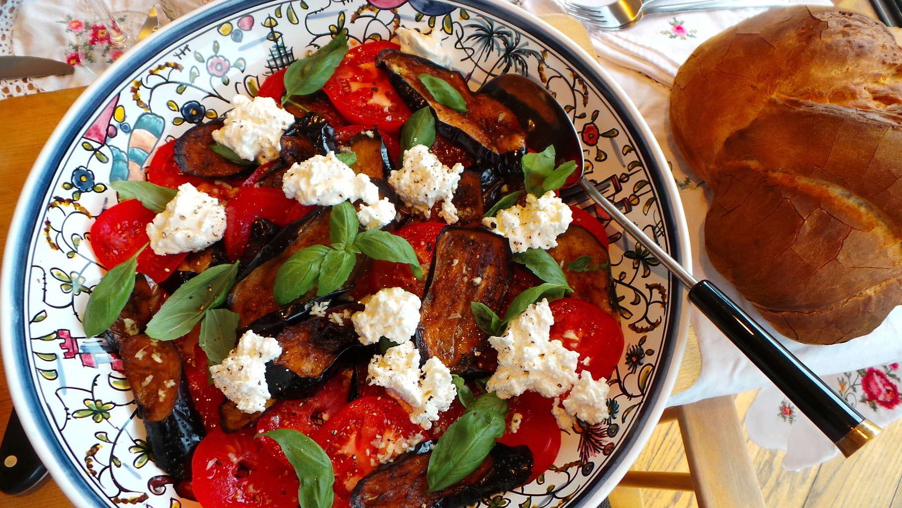 Tomato, Eggplant, Ricotta (4)
