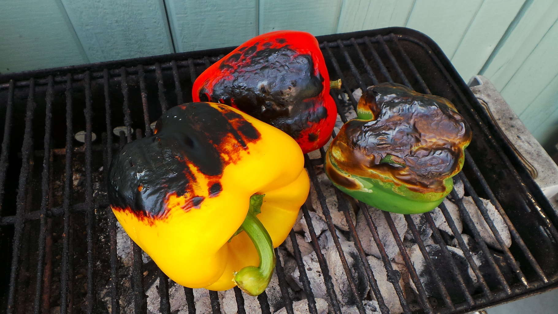 Bell peppers, grilled (3)
