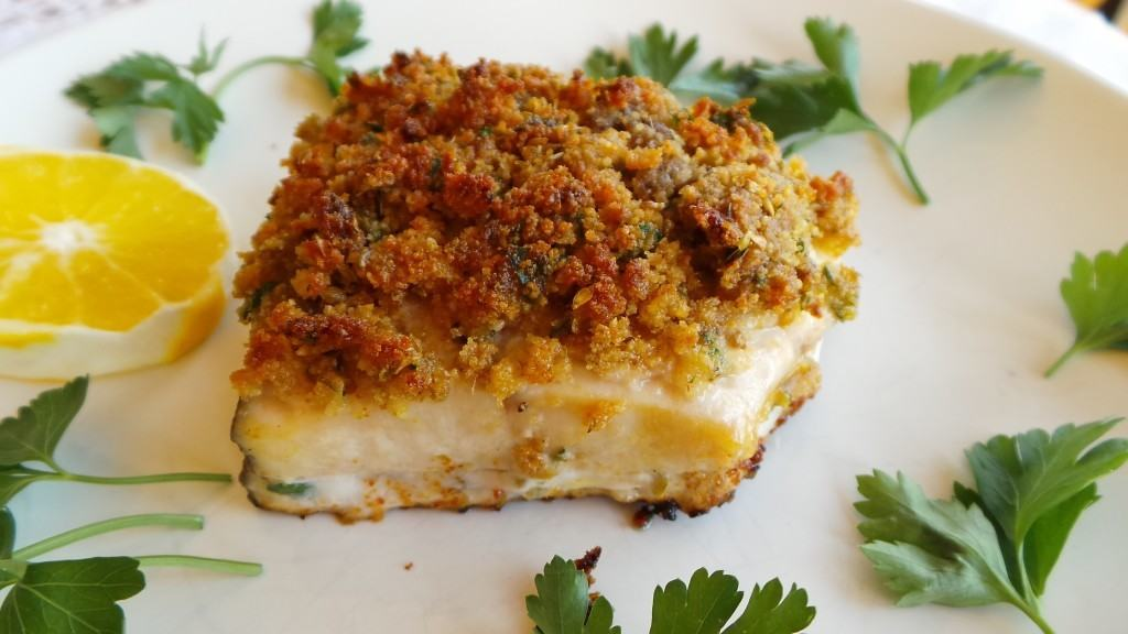 Baked Swordfish with Golden Crust (CAWCOM) (2)