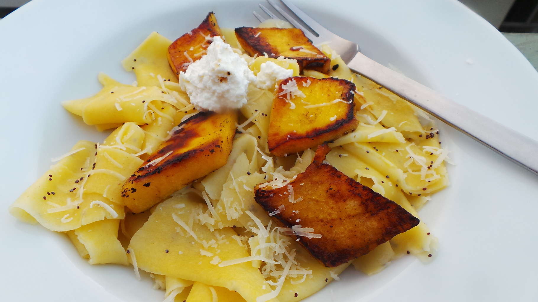 Pumpkin Pappardelle with Pumpkin and Poppy Seed (4)