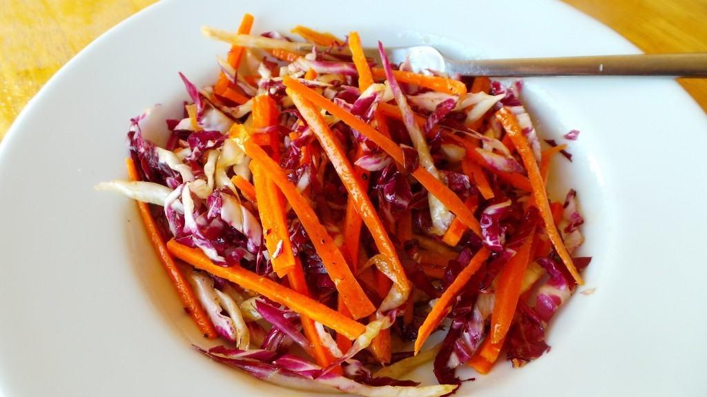 Carrot and Radicchio Salad (CAWCOM) (2)