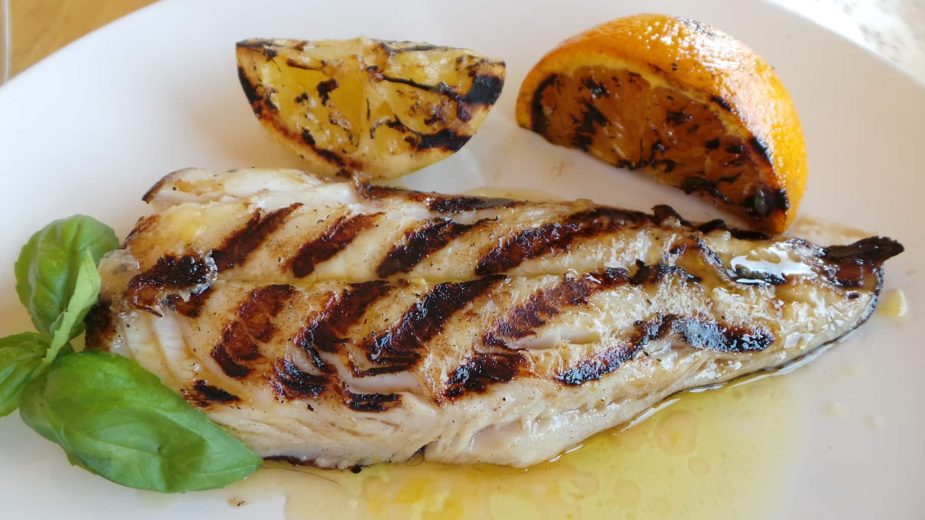 Keep it simple when grilling fish the italian way for Grilled white fish recipes