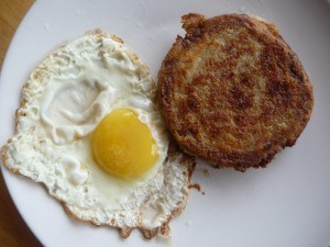 Scrapple and Egg (1)