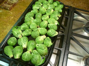 Brussels sprouts, griddled (2)
