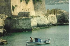 Castello Maniace in Ortygia in Syracuse