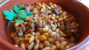 Lubya Bayda bi'l Basal wa'l-Tumatim (Lamb and White Bean) (Algeria) (2)