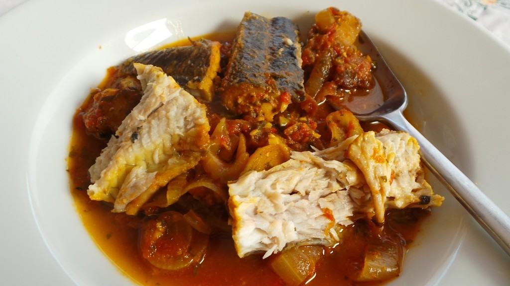 Anguilla a Picchi-Pacchiu all'Agrodolce (eel sweet and sour) (Sicily) (3)